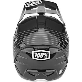 100% Aircraft DH Composite Kask rowerowy, czarny/biały